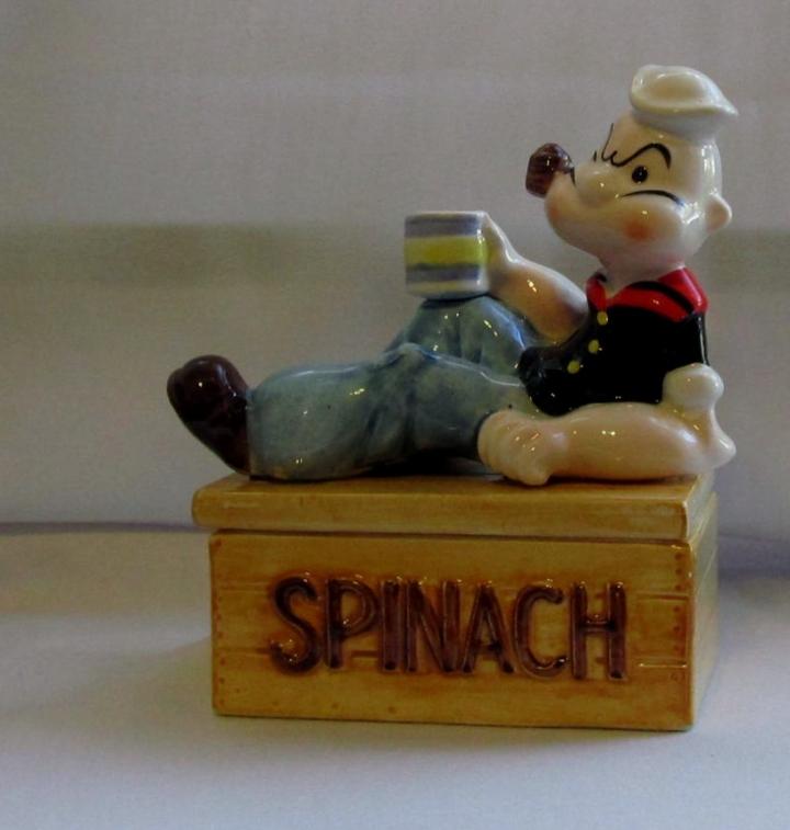 Popeye trinket dish