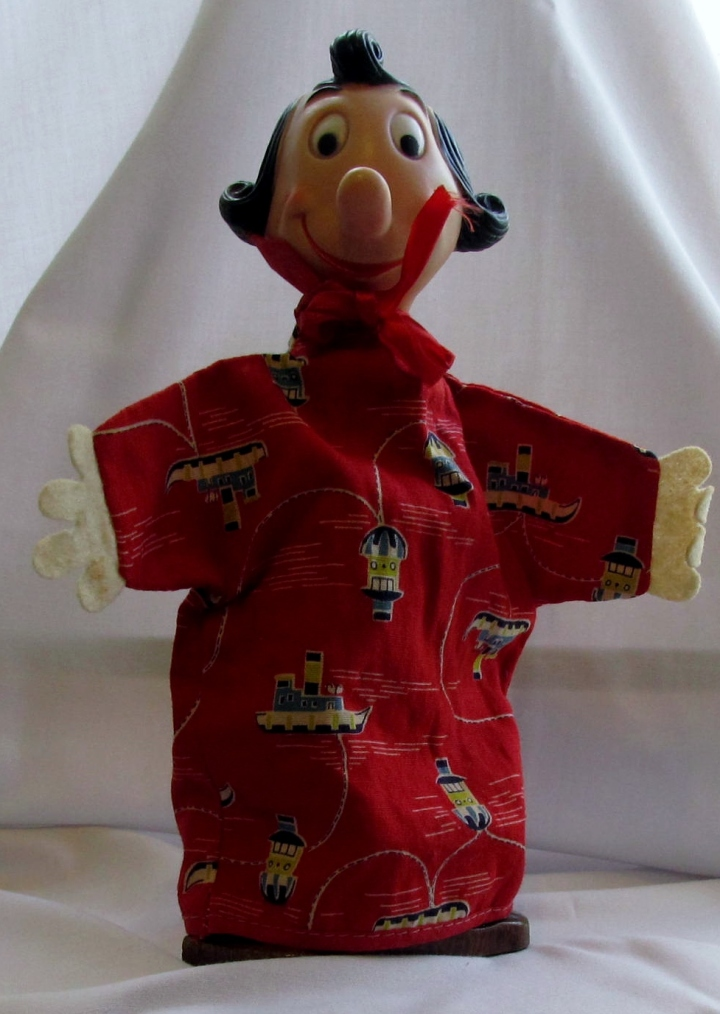 Olive Oyl hand puppet