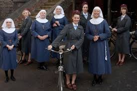 "Characters from ""Call the Midwife"""
