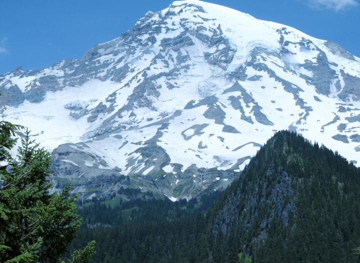 """Mount Rainier """"up close and personal."""""""