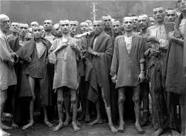 Survivors of German Prison Camps after World War II ended.