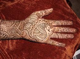 Henna prints; India